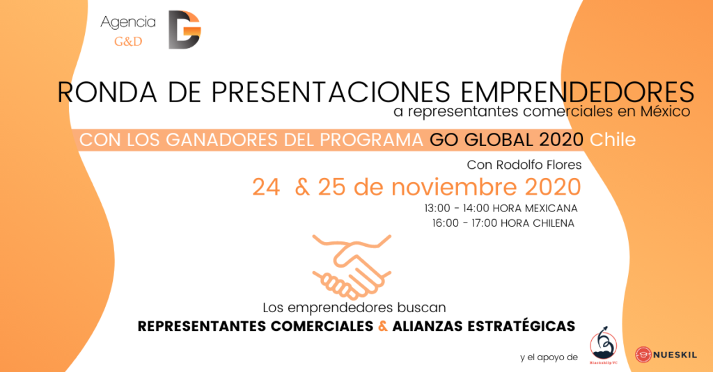 Ronda de presentaciones business cluster mexico ganadores go global 2020 chile